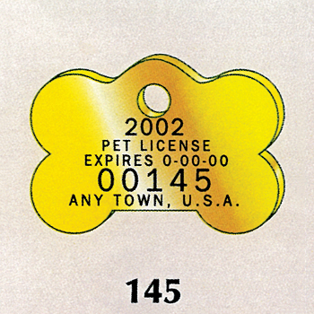 pet tag and dog licence manufacturer
